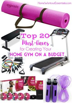 20 Must-Haves for Your Home Gym on a Budget: