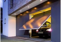 Canopy Garage Door Screen