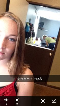 She wasent ready