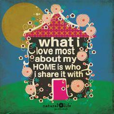 Este lunes vuelve a casa al salir de trabajar, y pasa tiempo con las personas con las que la compartes, porque son lo realmente importante allí #mensajepositivo