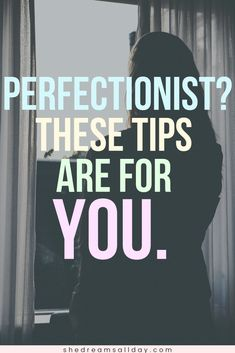 How to NOT be a perfectionist. 5 helpful ways to beat perfectionism, for good. #personaldevelopment
