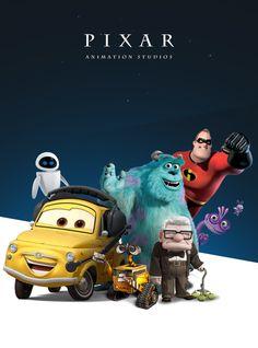 Pixar  Motion Graphics, UI/UX, Web Design