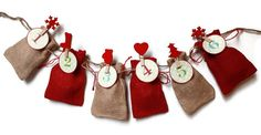 Hey, I found this really awesome Etsy listing at https://www.etsy.com/listing/254760265/advent-calendar-bags-countdown-to