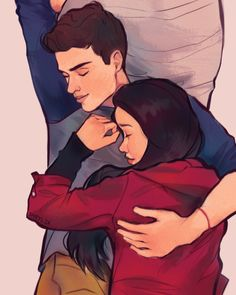 To All The Boys I've Loved Before was the sweet and wholesome romcom I waited my entire life for Cute Couple Drawings, Cute Couple Cartoon, Cute Love Cartoons, Cute Couple Art, Love Drawings, Cute Love Images, Theme Harry Potter, Percy Jackson Fan Art, Love Illustration