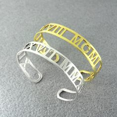 Find More Bangles Information about Personalized Roman Numerals Bracelet, Date Bracelet, Bangle 925 Silver Gold Plated, Custom Anniversary Bracelet, Custom Bangle,High Quality bracelet bangle,China bangle bracelet wholesale Suppliers, Cheap bangle india from Personalized Jewelry on Aliexpress.com