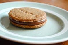 Chokoladekiks med Caramélia-ganache