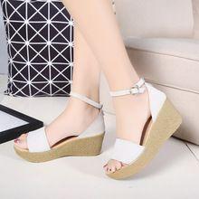 Femmes chaussures femme sandales printemps/automne plate-forme des femmes à talons hauts sandales sexy Fond Épais plate-forme chaussures 35(China (Mainland))