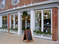 Confessions of a bookstore junkie:  While on a weekend getaway, my wife and I ventured into the town of Spring Green, Wisconsin.  We parked next to Arcadia Books with the intent of sampling all of the fun shops in the area.  All of the fun shops in the area were quickly overlooked because we spent all afternoon here.  Smart and geeky staff, astoundingly thoughtful selection, great atmosphere, and savory sandwiches, soups, coffee, tea, wine and beer.  Add this stop to your trip to APT!