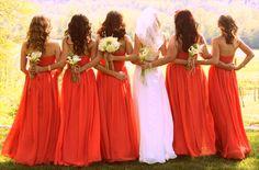 Consejos para la elecciòn del vestido para la dama de honor..