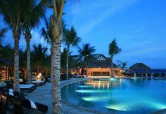 Home Design, Beauty Modern Mediterranean Pool Designs: Luxury Style Ideas Of Home Interior Design Hotel In Maldives