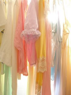 Beautiful light clothes in #pastel shades.