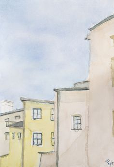 water color / sketch Olomouc