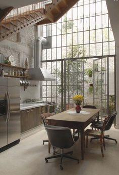 #indus #industriel #metal #beton #bois