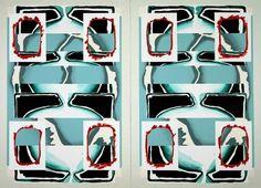 luis Gordillo, Estigmativas, 1998 on ArtStack #luis-gordillo #art