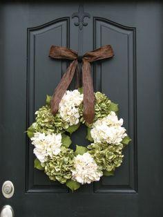 Wreaths - Hydrangea Wreath