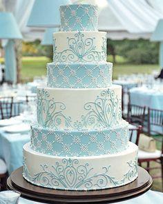 Hochzeitstorte, wirklich schön