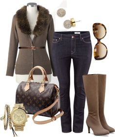 """""""Luxe - Plus Size"""" by alexawebb ❤ liked on Polyvore"""