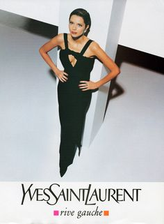 YSL A/W 1994...cannot get used to saint laurent.