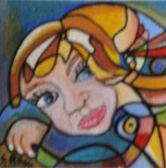 Pintura e Acrilico de Sandra V Rossi