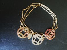 South Hill Designs Bracelet I put together- Gold Elongated Cable Chain $23. Silver, Gold, Rose Gold Diamond Screens $9/ea. www.sparklingcharms.com