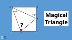 Magical Triangle - Think Outside The Box! Maths Solutions, Thing 1, Thinking Outside The Box, Mathematics, Geometry, The Outsiders, Triangle, Advertising, Student