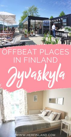 Visiting Finland soon and scouting what places to visit? A fantastic city destination is Jyvaskyla (Jyväskylä in Finnish) in central Finland. Read this article to know why you will fall in love with this city! Finland Destinations, Family Destinations, Amazing Destinations, Bucket List Holidays, Summer Bucket Lists, Finland Summer, Finland Travel, Travel Tours, Travel Europe
