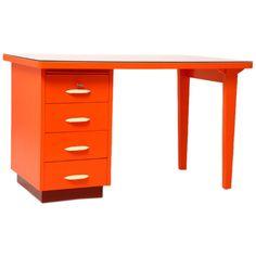 czech mid-century desk