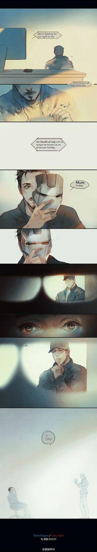 <Ironman's extra heart> 蓝,不仅是他双... 来自眠狼RDJ - 微博