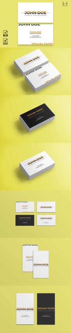 Half a Doe Business Card Template