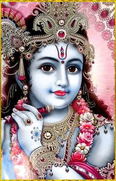 """☀ SHRI KRISHNA ॐ ☀ """"The entire universe, which is full of living entities, is like a tree whose root is the Supreme Personality of Godhead, Acyuta Krishna. Therefore simply by worshiping Lord Krishna one can worship all living entities.""""~Srimad..."""