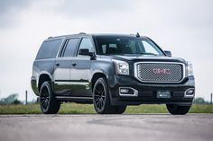 2016 HPE650 Supercharged GMC Yukon Denali XL Hennessey Wheels & Brembo Brake Upgrade