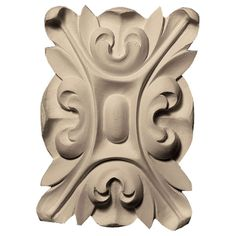 Enjoy discounted saving on millwork items like Ekena Millwork Floral with Leaves Rectangle Rosette (Designed for Wood Rosettes, House Trim, Touch Up Paint, Wood Carving, Mantle, Accent Decor, Lion Sculpture, Base, Leaves