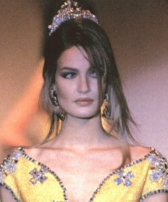 Karen Mulder - Gianni Versace 1992