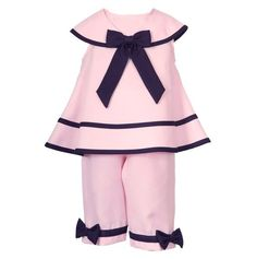 Adorable Baby Bow Outfit.