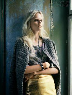 Josefine Nielsen By Katrine Rohrberg In 'I En Villa' For Eurowoman November2013 - 3 Sensual Fashion Editorials | Art Exhibits - Anne of Car...
