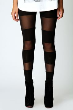 Hilby Black Mesh Leggings.. Saw fashion idol Anna from Five Knives wear these to the Nylon music awards or something.