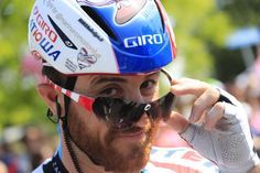 Luca Paolini, the only man who can wear the Assos glasses and still look cool