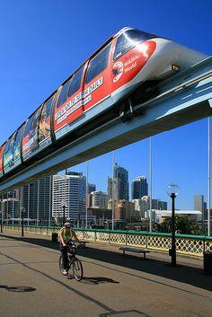Rail Transport, Public Transport, Australia Capital, Sydney Australia, Travel Around The World, Around The Worlds, Metro Rail, Future Transportation, Bonde