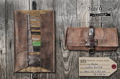 I just feel like I need this to live.   https://www.etsy.com/listing/203849939/handmade-personalized-leather-barber