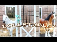 How to Make Doll Stables - YouTube