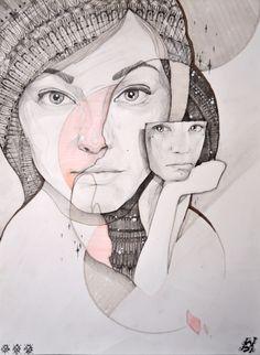 Pencil drawing by misha ap studio art, self portrait drawing, ap drawing, Portrait Drawing, Sketches, Painting Illustration, Art Drawings, Art Projects, Art Studios, Ap Art, Illustration Art, Art