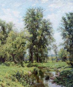 Картины американского пейзажиста Hugh Bolton Jones