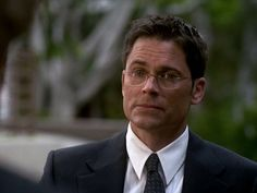 Rob Lowe Returns, Season 7, the last few episodes of The West Wing
