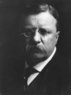 Two-Term President Theodore Roosevelt finished McKinley's term after the assassination one of his own