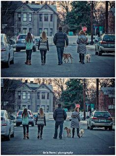 Posh Poses | Family | Family of 4 + 2 | Family Walk | Dusk