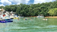 Lake Lanier Boaters Group August Raft Up