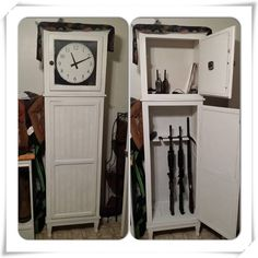 Klockit - Heritage Gun Cabinet Plan & Components | Gun Cabinets ...