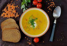 Согревающий морковный суп с чечевицей — Cakes&Tights
