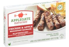 Applegate Natural Chicken and Apple Breakfast Sausage- AMAZING!!