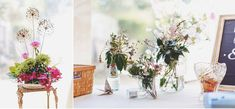 I have a soft spot for shabby chic wedding. This is an incredible wedding! All pretty images captured by Ross Harvey. He's not only snapped the beautiful moments behind this shabby chic but the chic details too. Shabby Chic Uk, Shabby Chic Wedding Decor, Vintage Wedding Theme, Deco Floral, Floral Design, Wedding Flowers, Wedding Day, Pretty Images, Wedding Decorations